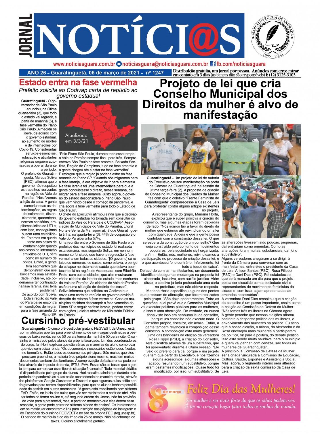 Edição nº1247 do Jornal pagina 1247