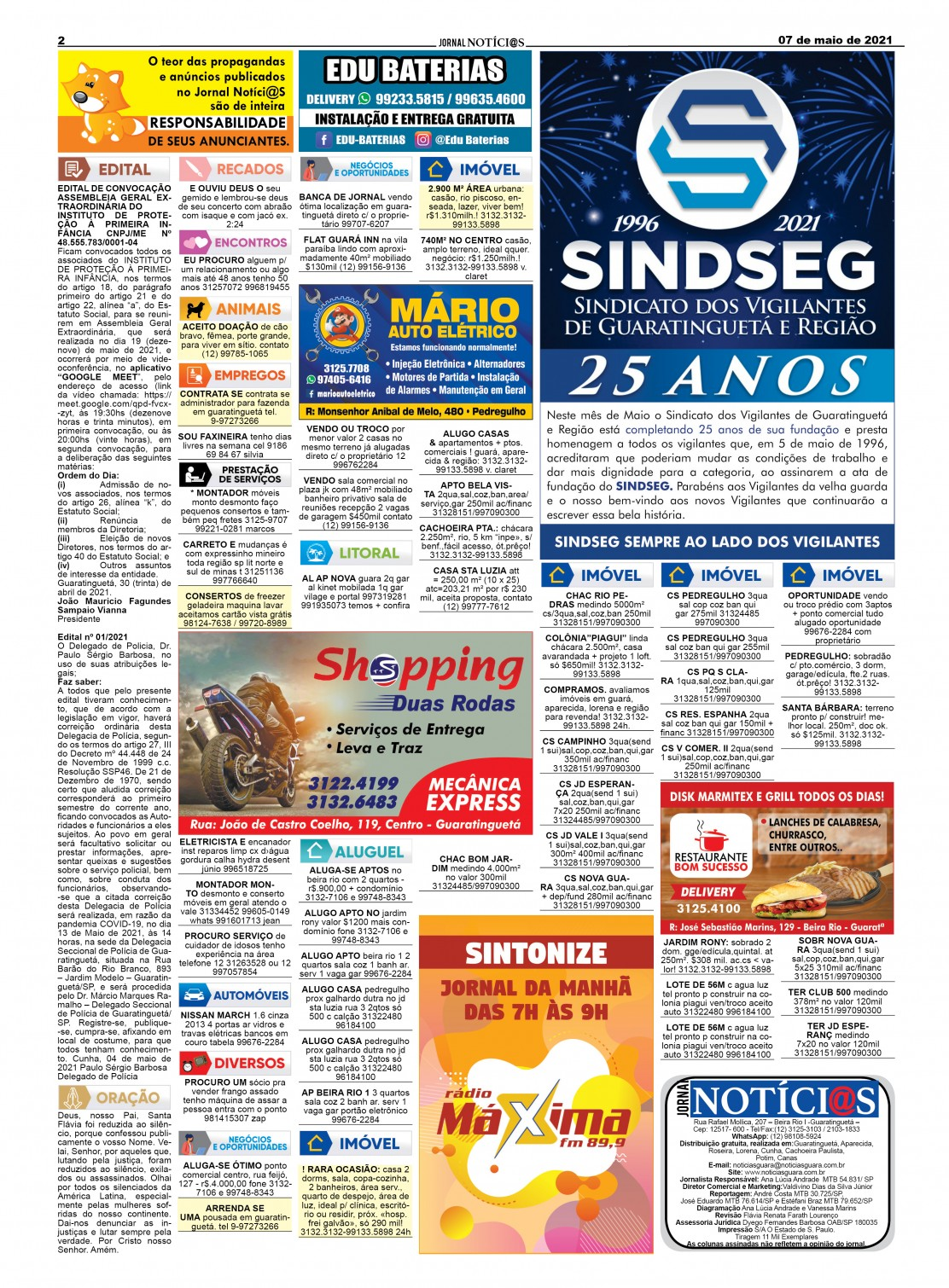 Edição nº1255 do Jornal pagina 1255