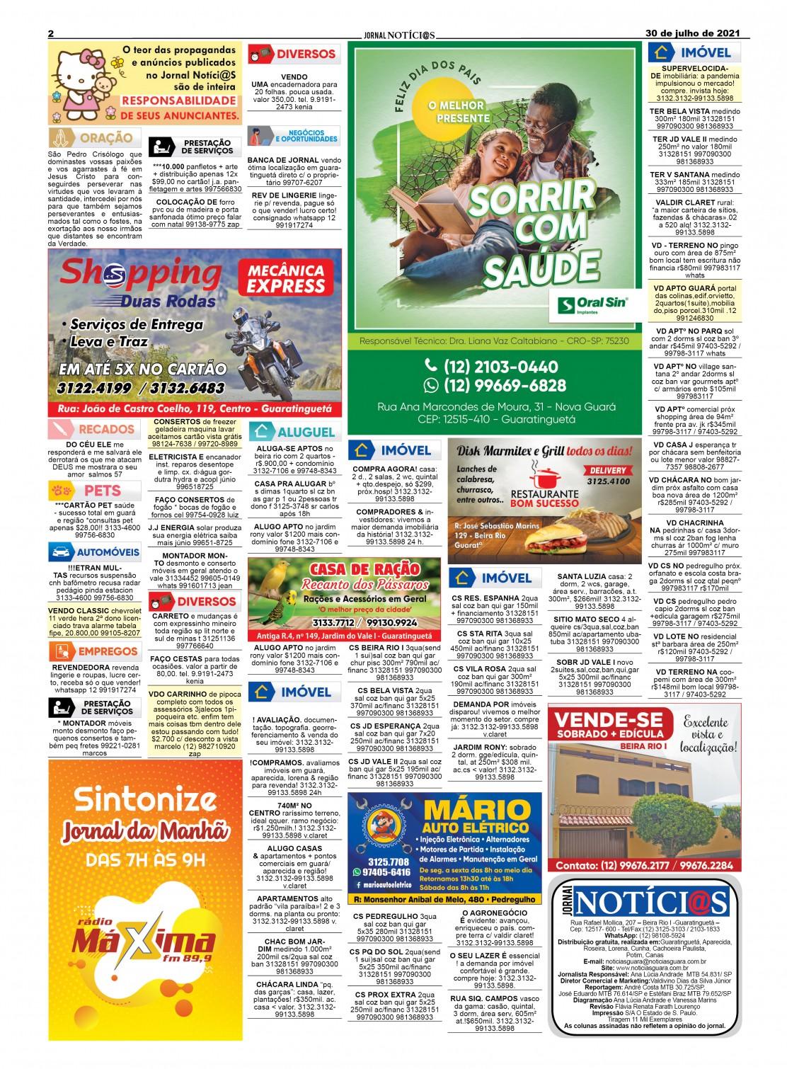 Edição nº1265 do Jornal pagina 1265