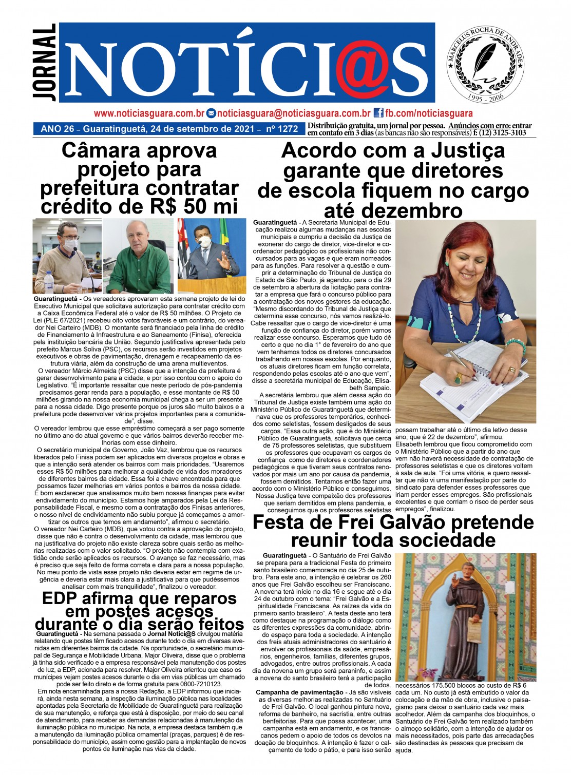 Edição nº1272 do Jornal pagina 1272